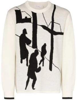 Kazimir Winterland Intarsia Sweater by Linder