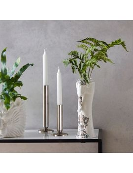 Small Silver Candle Holders by River Island