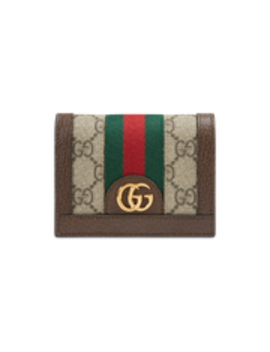 Diy Ophidia Gg Card Case Wallet by Gucci