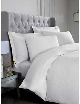 Snakeskin 300 Thread Count Duvet Cover And Pillowcase Set by Hotel Collection
