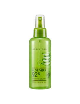 Nature Republic Soothing & Moisture Aloe Vera 92% Soothing Gel Mist 150ml by Nature Republic