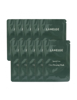 Laneige Cica Sleeping Mask Samples 10pcs (3ml X 10pcs) by Laneige