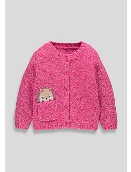 Girls Hedgehog Pocket Cardigan (9mths 6yrs) by Matalan