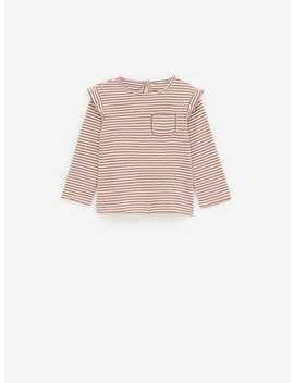 Striped T Shirt With Pocket View All T Shirts by Zara