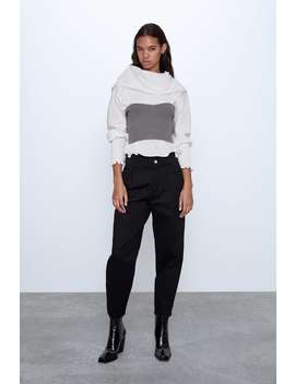 Carrot Trousers New Inwoman by Zara