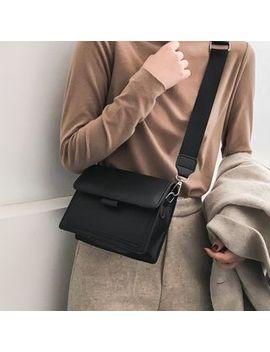 Bagaz   Faux Leather One Shoulder Bag by Bagaz