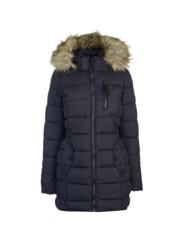 North Nylon Padded Coat by Only