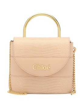 Aby Lock Small Leather Shoulder Bag by Chloé