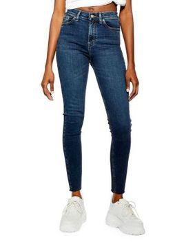 Raw Hem Jamie Jeans 32 Inch Leg by Topshop