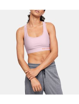 Armour® Mid Crossback Heathered Women's Sports Bra by Under Armour