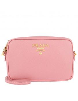 Camera Bag Crossbody Saffiano Leather Petalo by Prada