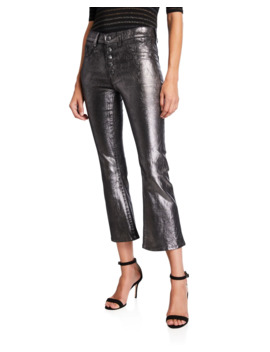 Carolyn High Rise Baby Boot Cut Jeans by Veronica Beard
