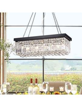 Carina 5 Light Crystal Chandelier by Generic