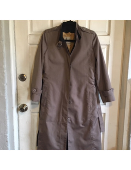 Misty Harbor Vintage 80's 90's Trench Coat Duster by Misty Harbor