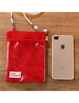 Kpop Bangtan Boys Red Storage Bag Red Shoulder Same Paragraph Bags Mini Storage Bag Surrounding by Ali Express.Com