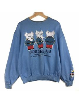 Rare!! Cornelius Babar Sweatshirt Cornelius Babar The Elephant Pullover Cornelius Babar Sweater Shirt Big Logo / Fits Medium Size by Etsy