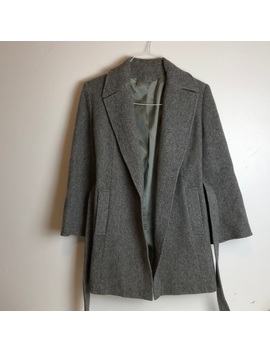 🍁Gorgeous Vintage Wool Trench Coat Size 6 8 by Vintage