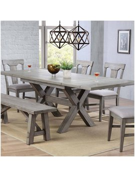 Vergara Trestle Table by Ophelia & Co.