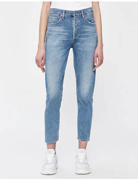 Liya High Rise Classic Fit Jean In Wild Side by Citizens Of Humanity Citizens Of Humanity