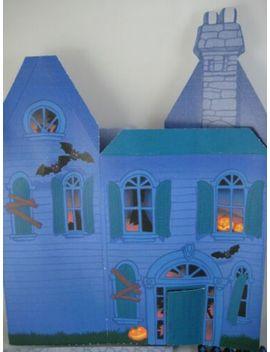 Vintage 1987 Hallmark Haunted House Halloween Centerpiece Complete by Ebay Seller