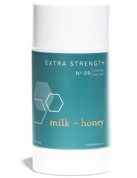 Online Only Lavender, Tea Tree Extra Strength Deodorant No.09 by Milk + Honey