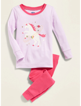 Unicorn Sleep Set For Toddler & Baby by Old Navy