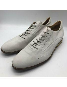 New John Lobb Aw 2011 Fall Range White Suede Sneakers Shoes Us 10.5 Uk 9.5 by John Lobb