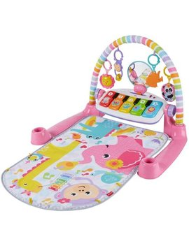 Fisher Price Deluxe Kick & Play Removable Piano Gym, Pink by Fisher Price