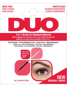 Duo 2 In 1 Brush On Lash Adhesive by Ardell