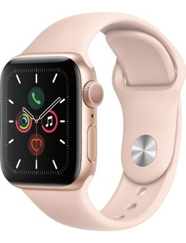 Apple Watch Series 5 (Gps) 40mm Gold Aluminum Case With Pink Sand Sport Band   Gold Aluminum by Apple
