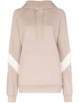 Contrast Panel Hoodie by Ninety Percent
