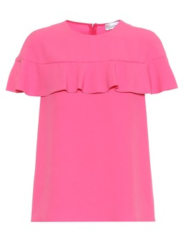 Ruffled Top by Red Valentino