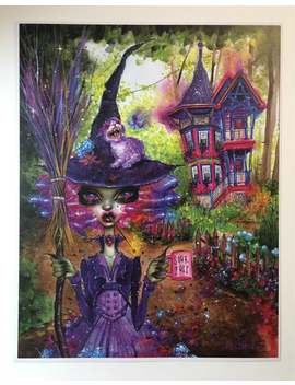 """Lexy And Amethyst With Her Rainbow Garden. 11x14"""" Print By Dustin Bailard. by Etsy"""