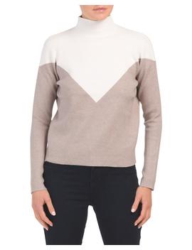 Double Knit Mock Neck Sweater by Tj Maxx