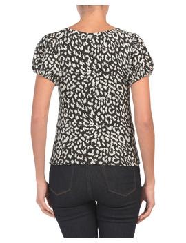 No Type Puff Sleeve Leopard Tee by Tj Maxx