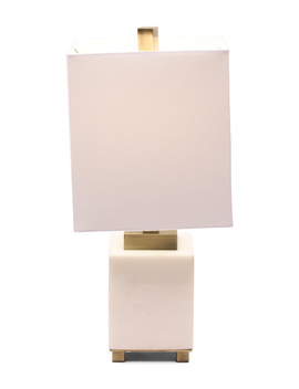 Marble Accent Accent Lamp by Tj Maxx