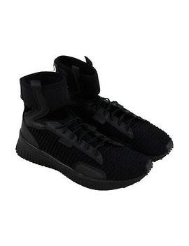Puma Fenty By Rihanna Trainer Mid X Rihanna Womens Black Lace Up Sneakers Shoes by Puma