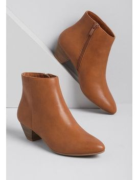 Sleek Status Ankle Boot by Modcloth