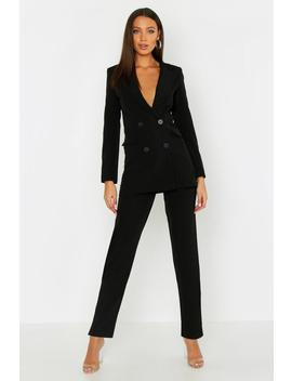 Tall Woven Tailored Pants by Boohoo