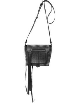 loveless-small-studded-leather-shoulder-bag by mcq-alexander-mcqueen