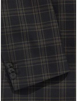 Plaid Wool Suit by Hugo