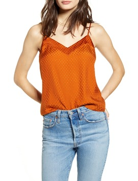 Mixed Sheen Camisole Top by Leith