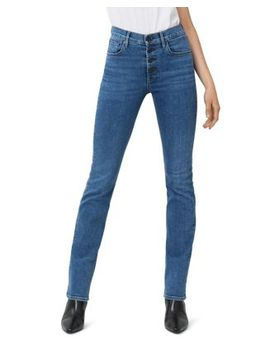 Poppy Straight Leg Jeans In Caraway by 3x1
