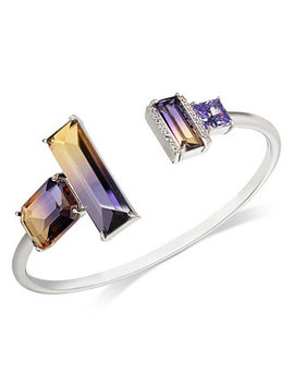 Pavé & Ombré Crystal Cuff Bracelet by General
