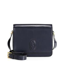 Le 61 Leather Saddle Bag by Saint Laurent