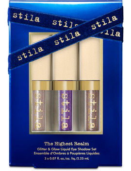 The Highest Realm Glitter & Glow Liquid Eyeshadow Set by Stila