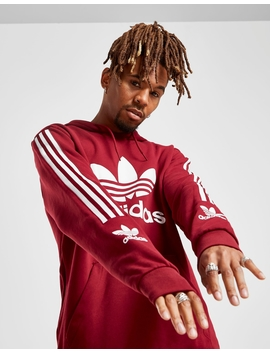Adidas Originals Lock Up Logo Overhead Hoodie by Jd Sports