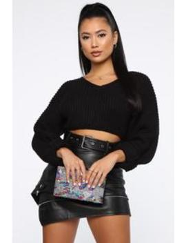 Going Out All Night Clutch   Silver/Multi by Fashion Nova