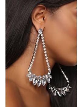 Swing The Other Way Earrings   Silver by Fashion Nova