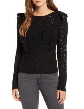 Pointelle Sweater by Rachel Parcell